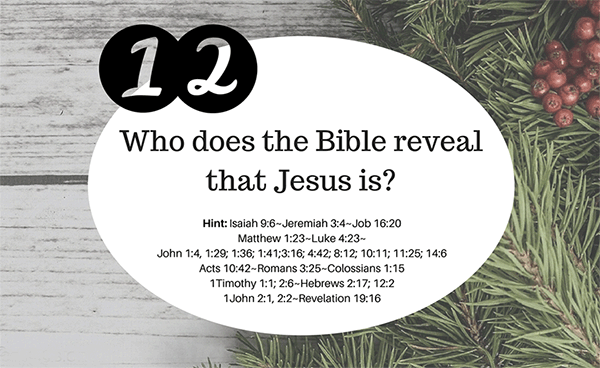 Christmas Bible Trivia.12 Days Of Christmas Trivia Community Bible Church