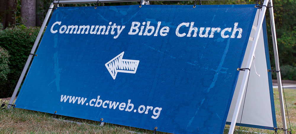 CBC Church Sign